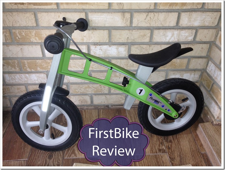 Street Fun with FirstBIKE the new Balance Bike for your little ones #Review #Giveaway