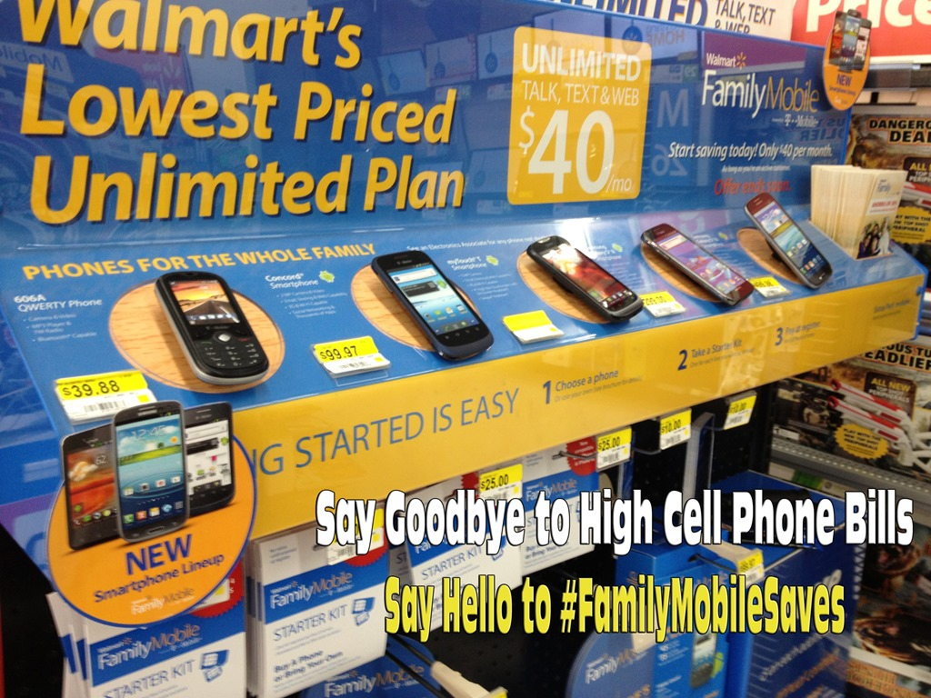 Say Goodbye to high Cell Phone charges and contracts; say HELLO to #FamilyMobileSaves