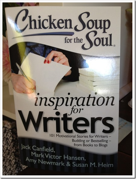Chicken Soup for the Soul inspiration for Writers #Giveaway