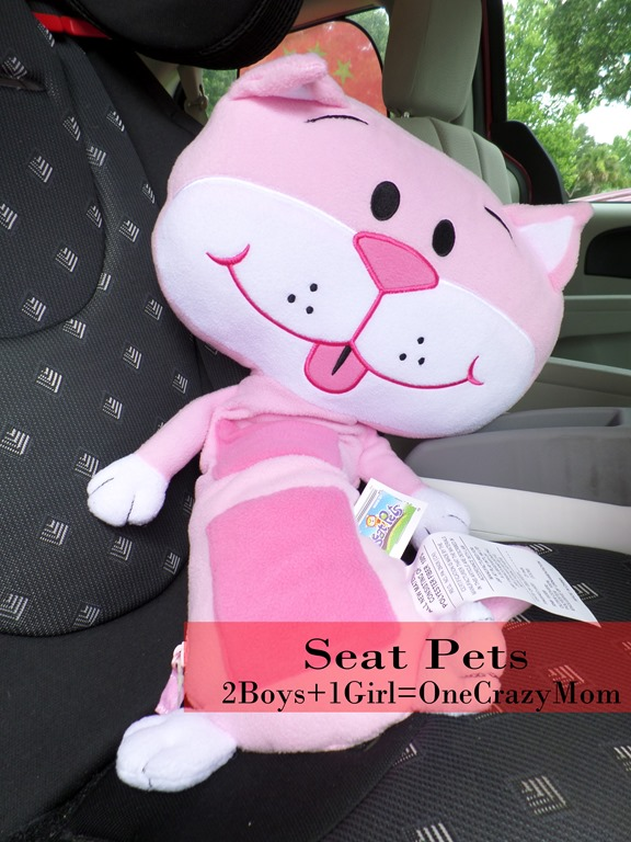 Road trip this summer with Seat Pets and Tummy Stuffers #Review