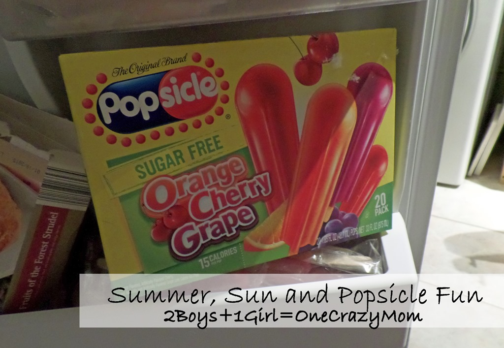 Summer, Sun and Popsicle Fun is what we are planning on for a great time #PopsicleMom