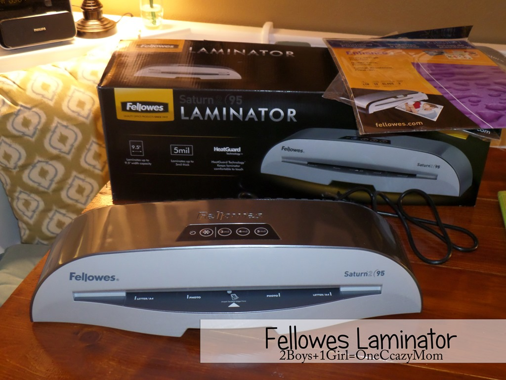 Laminate your Menu Plan and #Recipes in style with Fellowes Saturn2 #Review