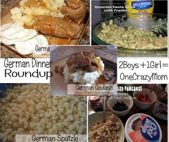 Let's dish up some German dinner ideas #Recipe