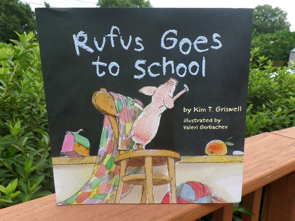 Rufus goes to School #BookReview
