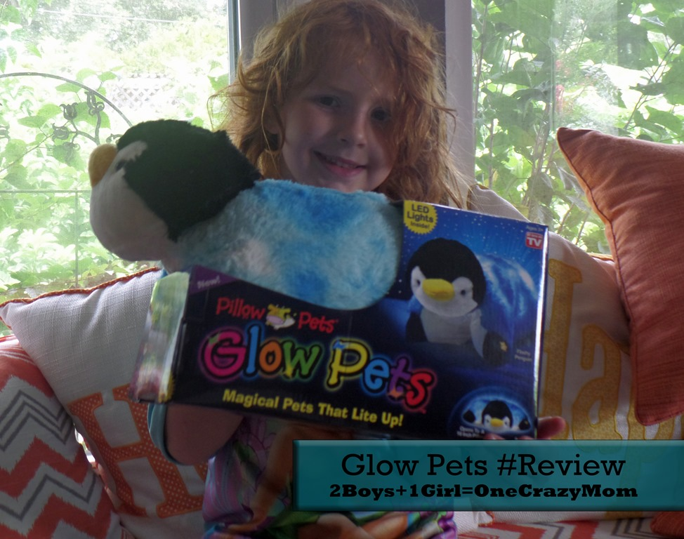 Getting kids back into their own bed with Glow Pets #Review
