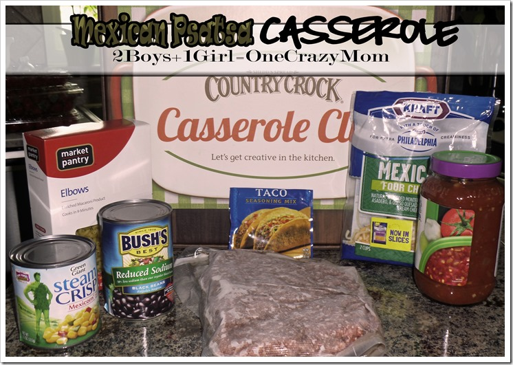Mexican Pasta Casserole #Recipe Challenge is dished up with #CountryCrockCasserole #Dinner on a budget and #simple