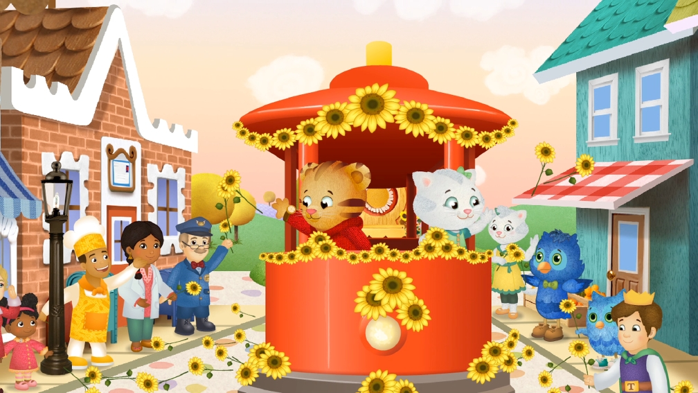 Daniel Tiger will be celebrating his new show with a #NeighborDay