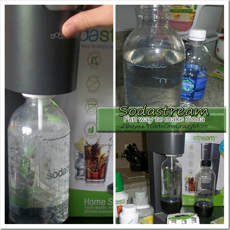 Sodastream is the fun way to make your soda