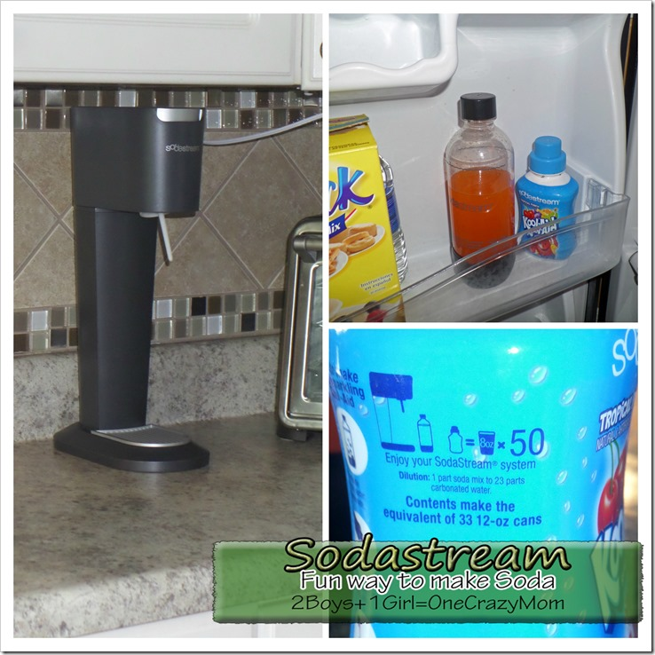 Create Your Own Soda In No Time With Sodastream And Stay