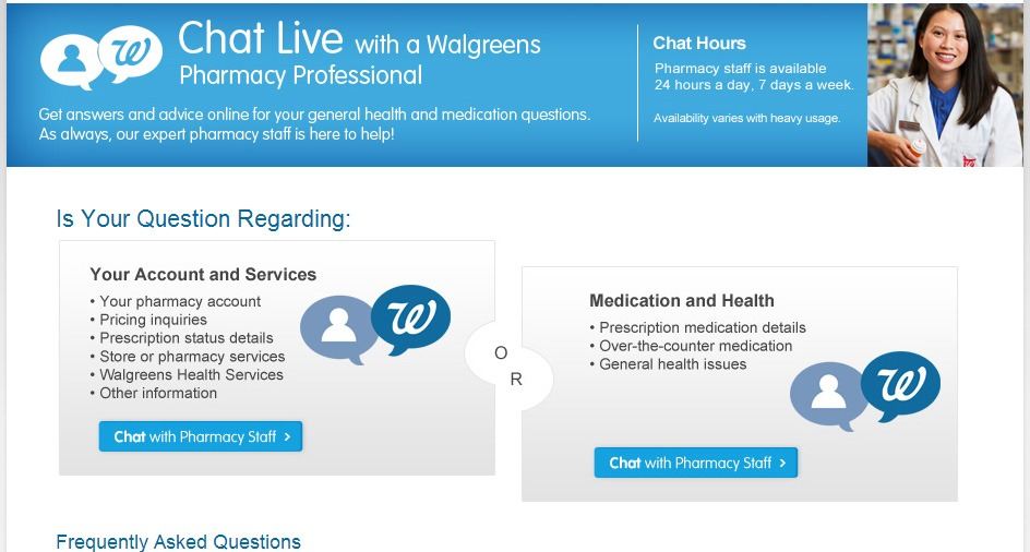 Have Health Related questions get #WalgreensAnswers in no time