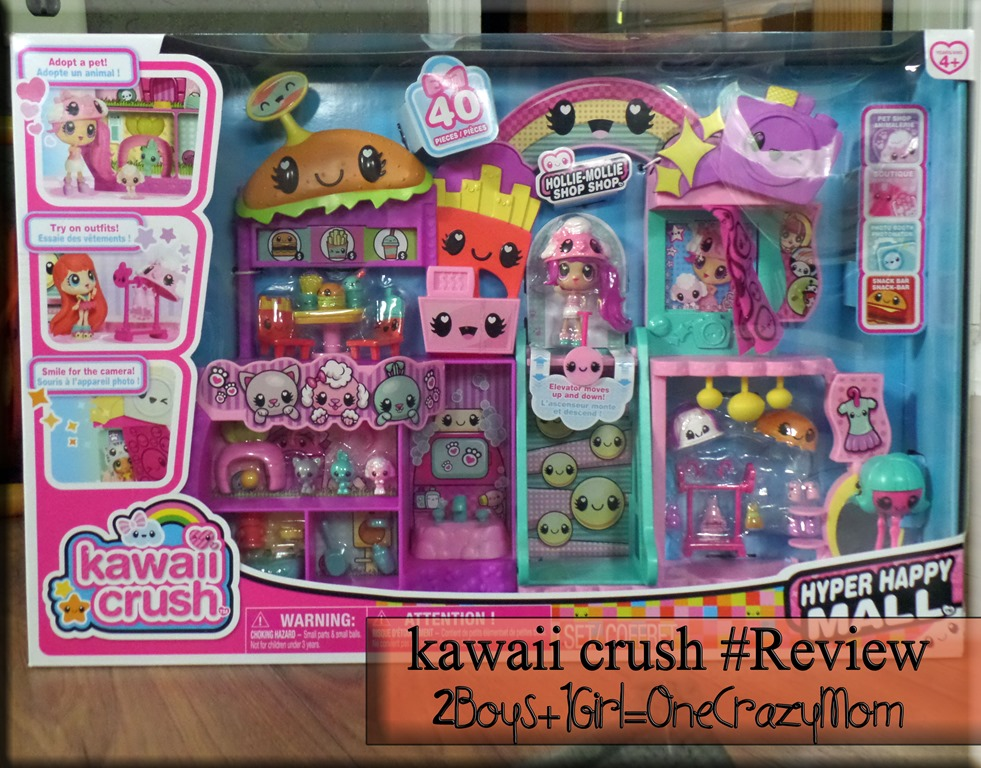 """There is a new star in the toy room called """"Kawaii Crush"""" #Giveaway"""