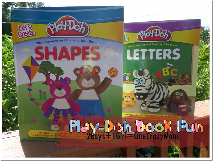 Learn and play with Play-Doh books #Giveaway