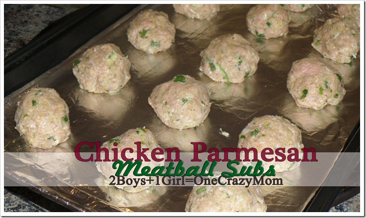 #ad We love to #CreateAMeal in no time dishing up Chicken Parmesan Meatball Subs today #Recipe