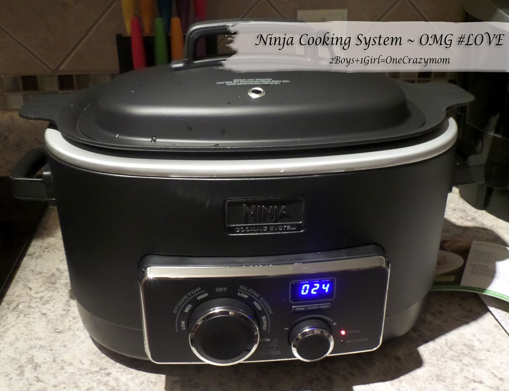 There is a new way to cook with Ninja Cooking System #Review and simple Spaghetti in under 30 minutes #Recipe