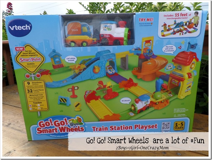 Lots of fun with Go! Go! Smart Wheels from VTech #Giveaway