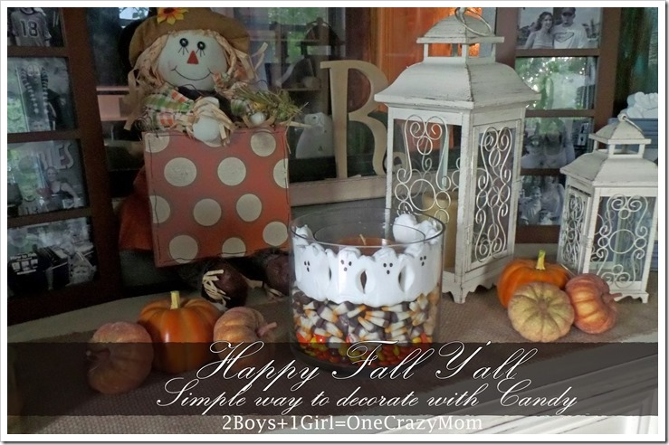 Decorate for #Fall in Style with simple #DIY projects