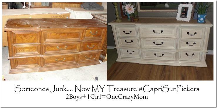 Someones junk now my Treasure #CapriSunPickers #shop