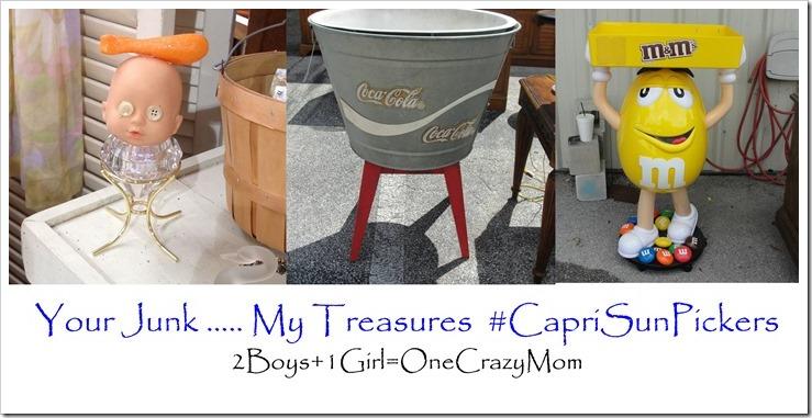 Your Junk my Treasure #CapriSunPickers #shop