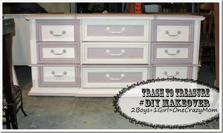 You can bring your old furniture back to life with a facelift #DIY paint
