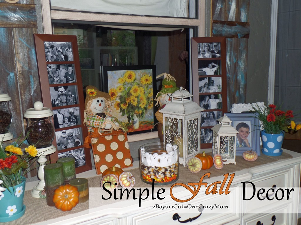 Simple way to decorate your house with kohl 39 s for fall for Simple ways to decorate your home