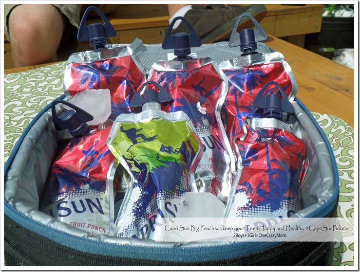 There is a new Capri Sun Big Pouch for Teens and lots of American Pickers tips #CapriSunPickers #Shop