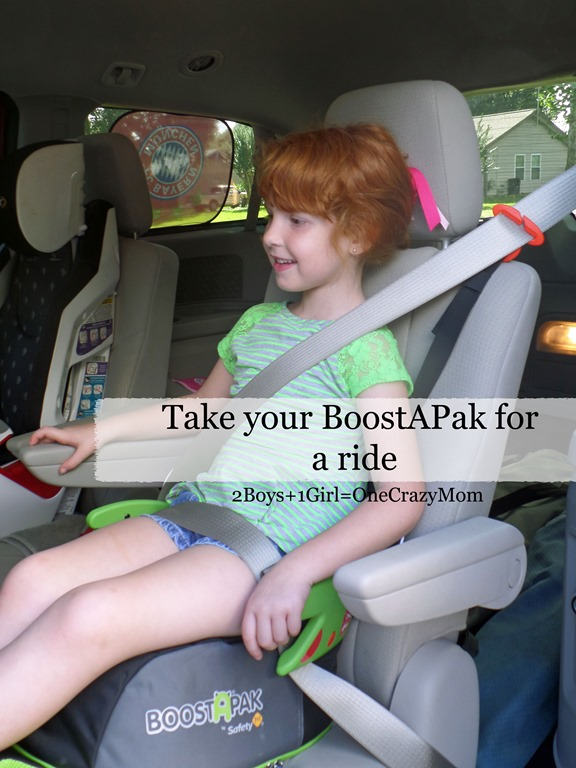 Keep your kids safe on the road with BoostAPak from Safety1st #Review