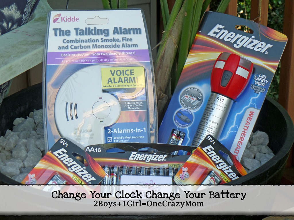 Change your Clock and Change your Battery #Giveaway