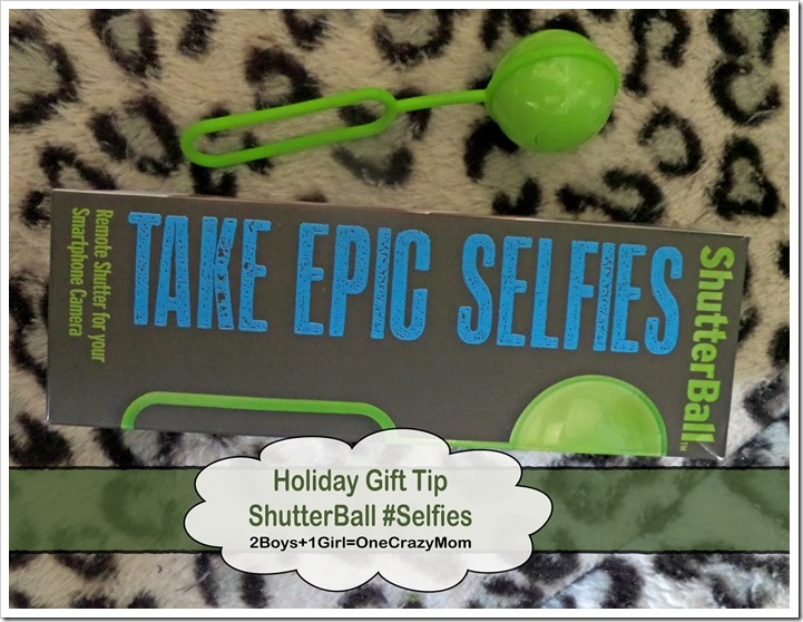 Holiday Gift for everyone that likes Selfies #ShutterBall is the answer ~ Great #Teen Gift Idea