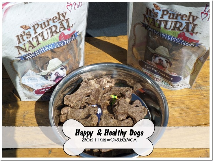 Keep your dog happy and healthy with #MadeInUSA dog treats