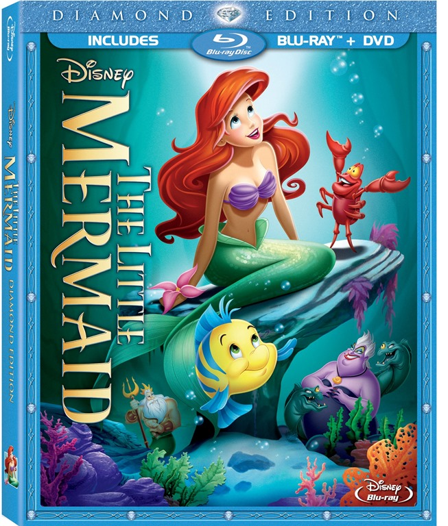 The Little Mermaid is swimming on DVD near you #Review