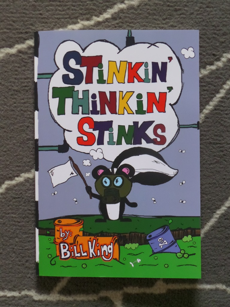 Stinkin' Thinkin' Stinks ~ do you Stink? #BookReview