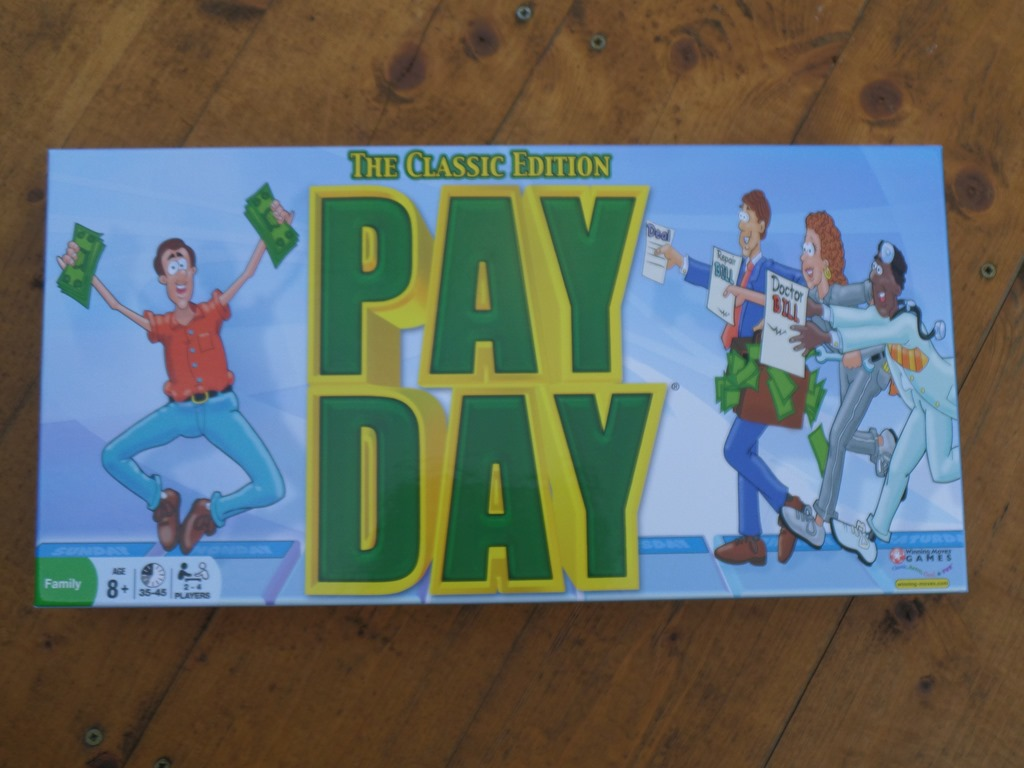 Throw back day with Pay Day Game #Review #Giveaway