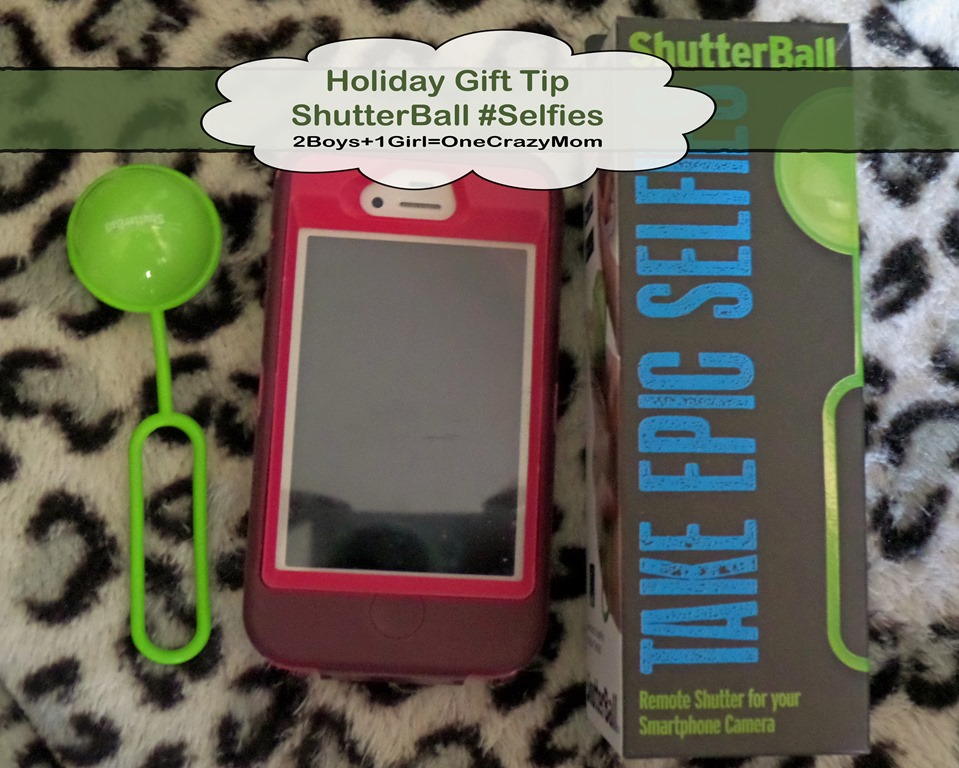 Holiday Gift For Everyone That Likes Selfies #ShutterBall