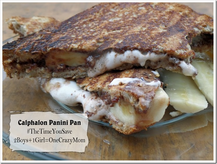 Nutella and Banana Smores Dessert Panini's with Calphalon ~ what would ...