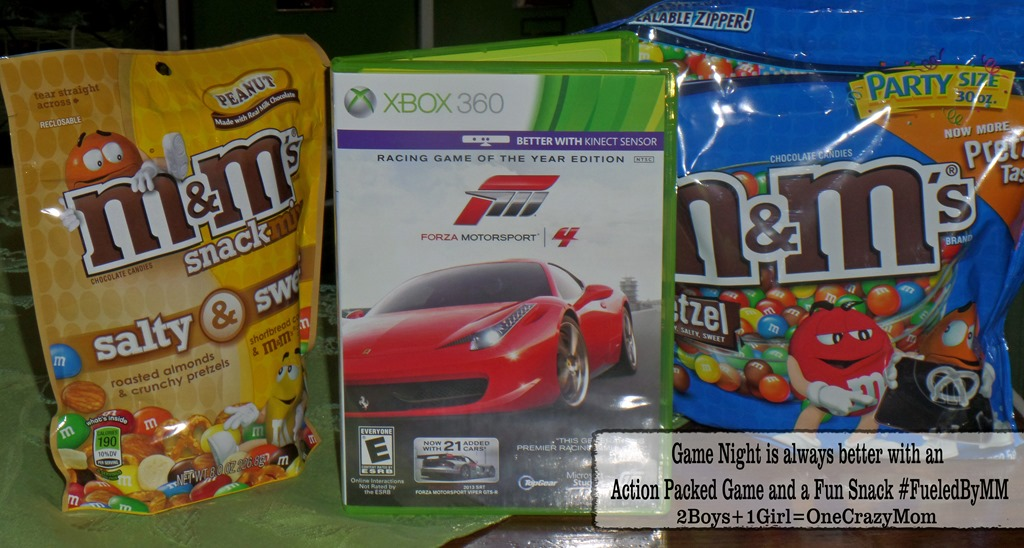 Game night is always better with an Action filled Video Game and a Fun Snack #FueledByMM