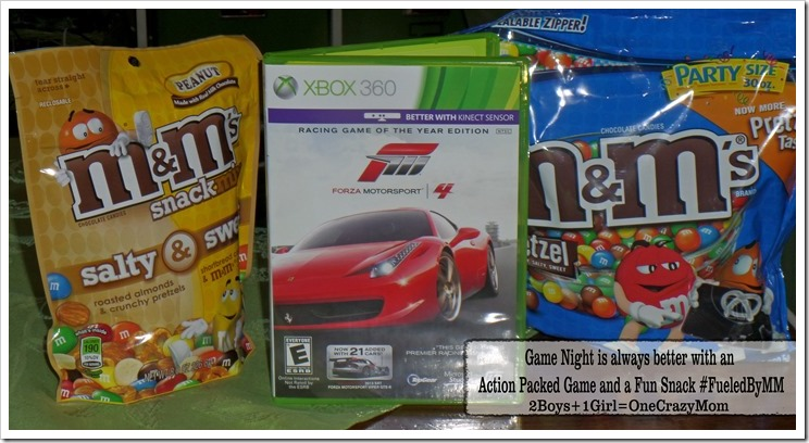Game night is always better with an Action filled Video Game and a Fun Snack #FueledByMM #Shop