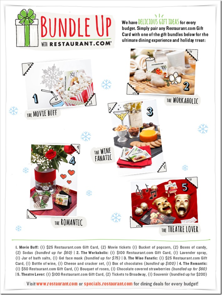 Spread some Holiday Cheer with the Restaurant.com #GiftGuide and special #deals for the #Holidays