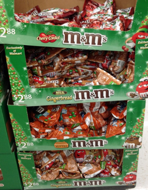 Grab a Coupon for the red and green M&M's Gingerbread Candy this Holiday Season #HolidayMM and create fun crafts