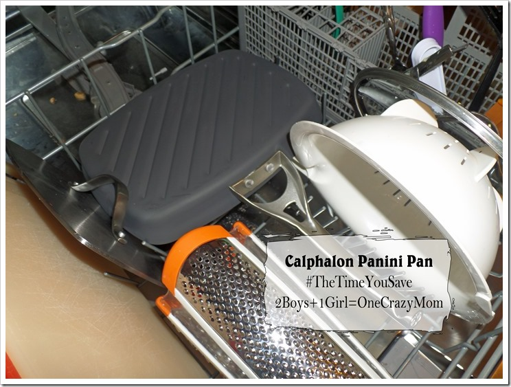 Simple Dinner and Dessert Panini's with Calphalon ~ what would you do with #TheTimeYouSave