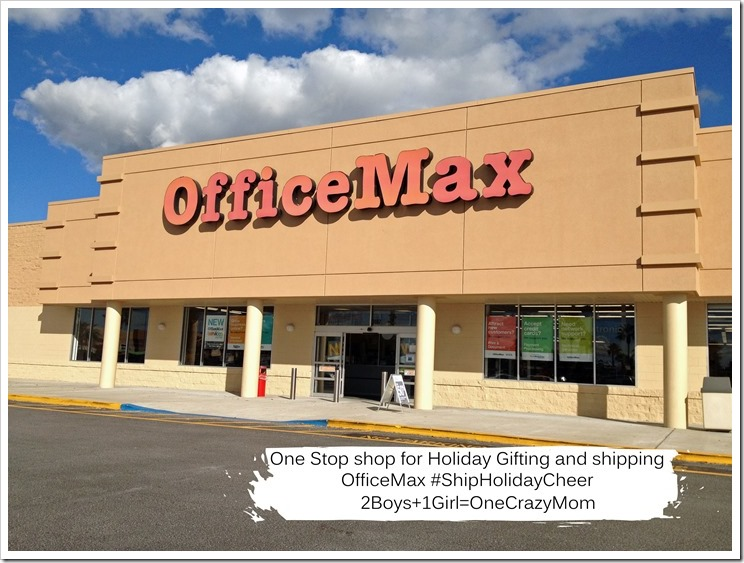 OfficeMax is your one stop gift and shipping destination