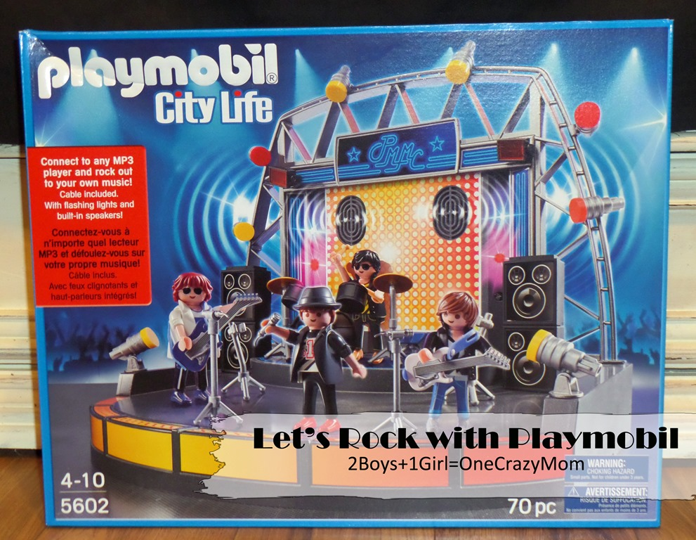 Let's Rock with Playmobil PopStars play set #GiftGuide