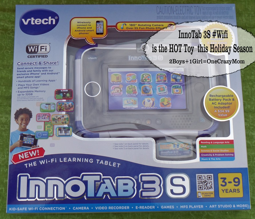 InnoTab 3S from Vtech is quickly becoming a Holiday MUST have item #GiftGuide