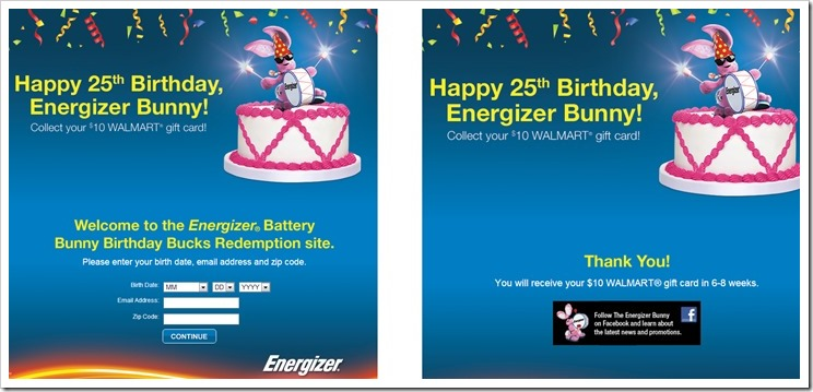 Happy Birthday Energizer Bunny and thanks for an awesome battery deal come along and celebrate the #BunnyBirthdayWMT #shop #cbias