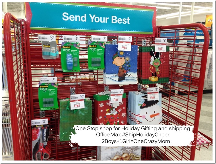 Your one stop shop for the Holidays is at Office Max 6