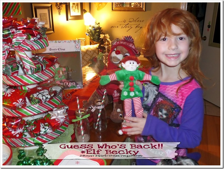 Follow our Elfcapades with #ElfMagic and our Elf Becky ~ She's Back