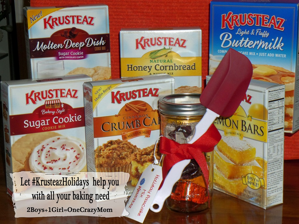Let #KrusteazHolidays help you with all your baking needs this Holiday Season