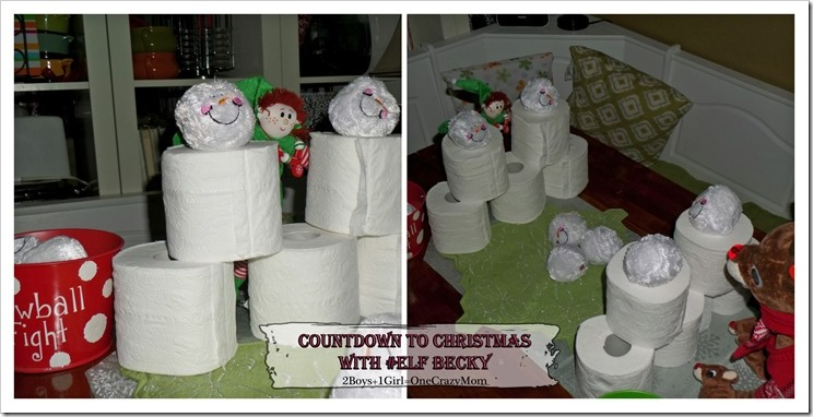 Elf Magic Countdown to Christmas Day 18 #Elfcapades