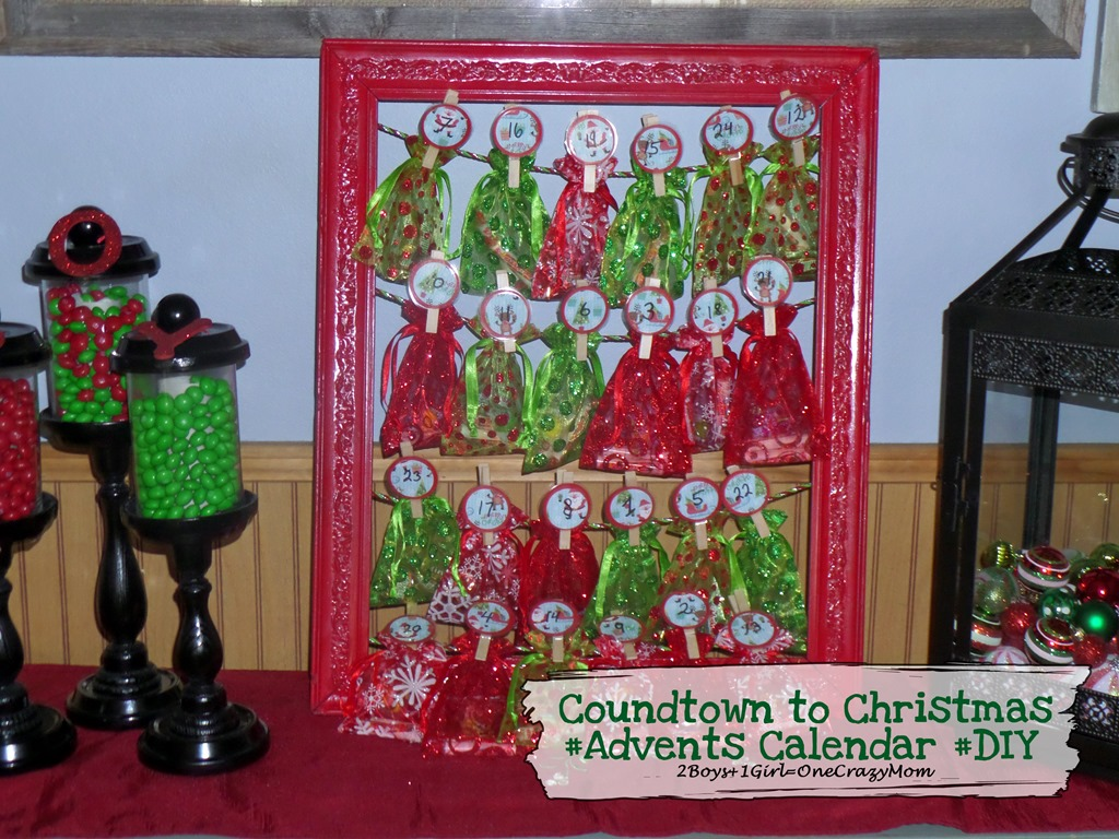 Start a new Christmas Tradition and Countdown with a #DIY Advent Calendar #craft