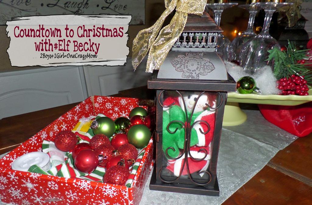Elf Magic Countdown to Christmas Day 9 #Elfcapades