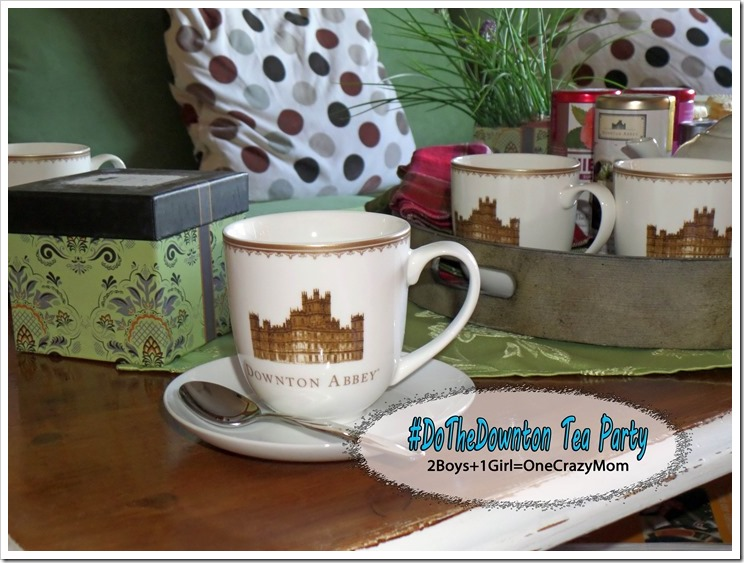 Tea Party fit for a Princess and we did the #DoTheDownton all the way ~ check it out and enter a Downton Abbey Tote bag #Giveaway